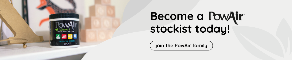 PowAir become a stockist banner image